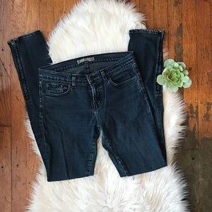 J BRAND The Deal Zipper Leg Skinny Jeans